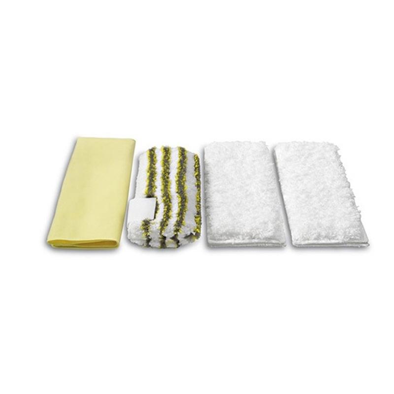 Karcher Microfibre Cloths Set Steam and Clean Bathroom (Pk of 4)