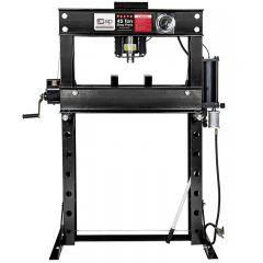 SIP 03691 45 Ton Shop Press (Pneumatic/Hydraulic)