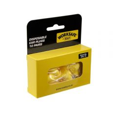 Sealey 403/10 Ear Plugs Disposable - 10 Pairs