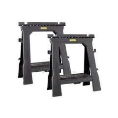 Stanley STA170713 Folding Sawhorses (Twin Pack)