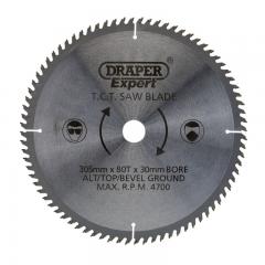 Draper 38152 TCT Saw Blade x 80T, 305 x 30mm