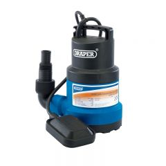Draper 61668 108L/Min Submersible Water Pump with Float Switch (350W)