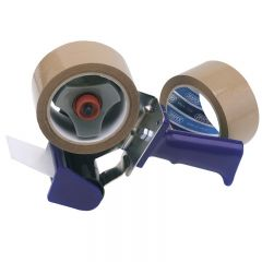 Draper 63390 Hand-Held Packing (Security) Tape Dispenser Kit With Two Reels of Tape