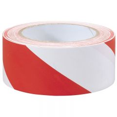 Draper 69010 33mm X 50mm Red And White Hazard Tape Roll
