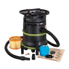Sealey Vacuum Cleaner Industrial Dust-Free Wet/Dry 35L 1000W/230V Plastic Drum Class M Self-Clean Filter