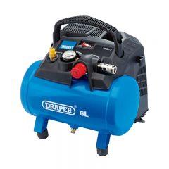 Draper 6L Oil-Free Air Compressor (1.2kW)