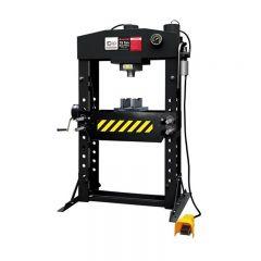 SIP 03696 75 Ton Shop Press (Pneumatic/Manual)