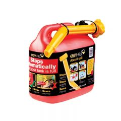 SIP 04556 Easy Fill 5LTR Plastic Fuel Can and Spout