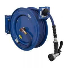 Sealey WHR1512 Heavy-Duty Retractable Water Hose Reel 15m Ø13mm ID Rubber Hose