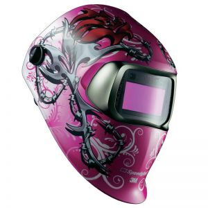 3M Speedglas 100 Welding Helmet - Wild n Pink (Discontinued)