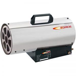 Draper 17682 Jet Force Stainless Steel Propane Space Heater 50K BTU (15KW)
