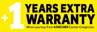 1 year extra warranty from Craigmore Online